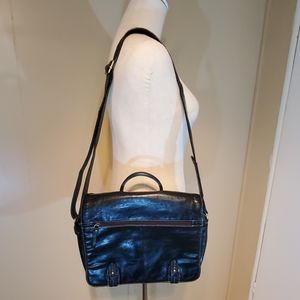 Aurielle Black Leather Professional Business Bag